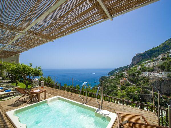 L'angolo Dei Limoni, Villa for rent in Amalfi, Campania