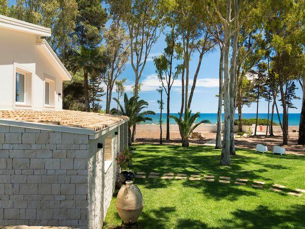 Villa La Marina, Villa for rent in Punta Milocca, Sicily