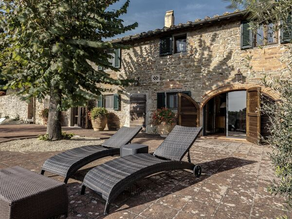 Stony Tuscan Farm, Villa for rent in Montegonzi, Tuscany