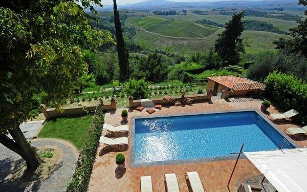 Villa Angelina, Тоскана, Peccioli