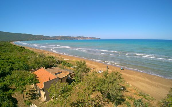 Toskánsko, Orbetello, Villino Sul Mare