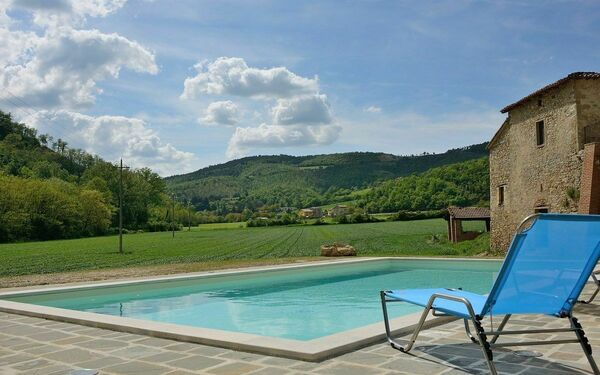 Il Serrone 1, Holiday Apartment for rent in Monte Santa Maria Tiberina, Umbria