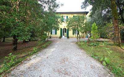 Villa Ronchi: Villa with private park