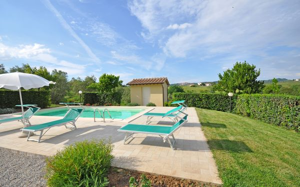 Cuccardino, Villa for rent in La California, Tuscany