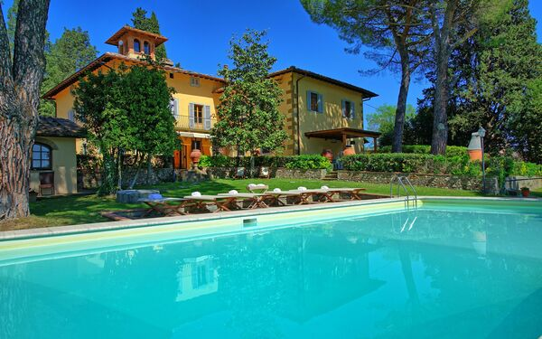 Villa Orchidea, Villa for rent in San Donnino, Tuscany
