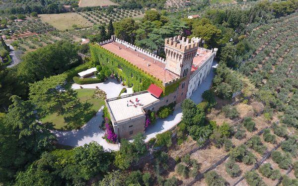 Schloß Castello Leopoldo in  Campiglia Marittima -Toskana