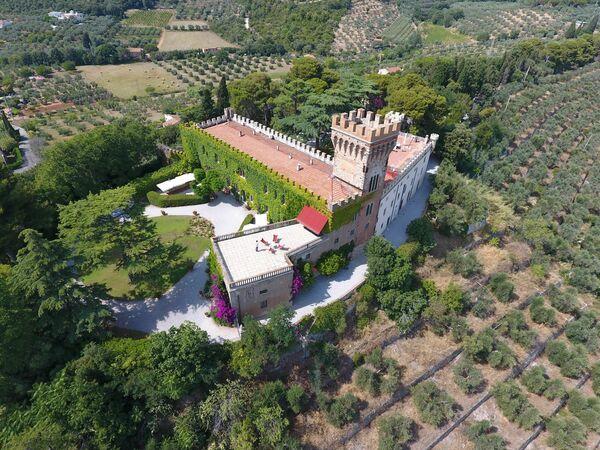 Toskánsko, Campiglia Marittima, Castello Leopoldo