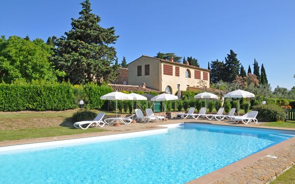 I Glicini, Apartment for rent in Noce, Tuscany
