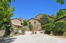 Toskánsko, Cortona, Borgo Del Castagno