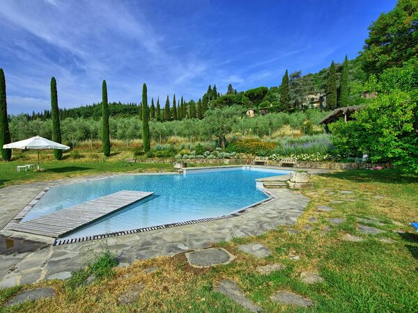 Montescalari, Apartment for rent in Figline Valdarno, Tuscany