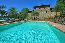 Poggio Conca, Villa for rent in Rinforzati, Tuscany