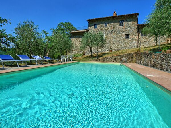 Poggio Conca, Villa for rent in Rinforzati, Tuscany