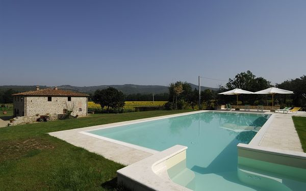 Villa Il Molino, Villa for rent in Levane, Tuscany