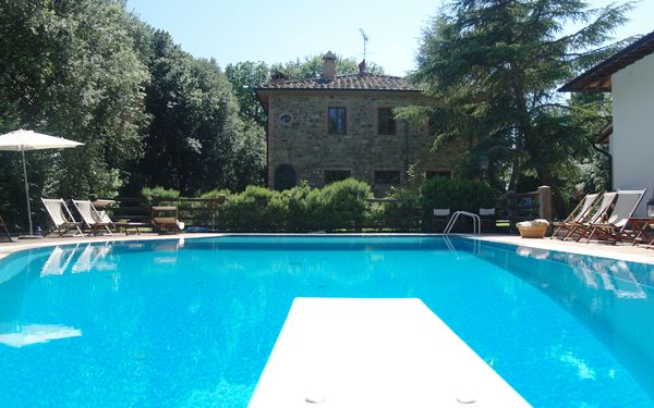 Villa Monti, Villa for rent in Gambassi Terme, Tuscany