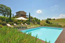 Villa Castelmuzio in  Trequanda -Toskana