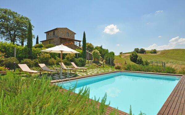 Castelmuzio, Тоскана, Trequanda