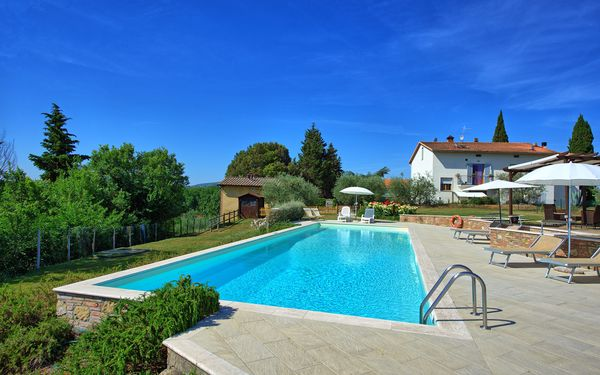 Capannina, Apartment for rent in San Gimignano, Tuscany
