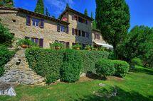 Villa Di Petriolo, Villa for rent in Lamole, Tuscany