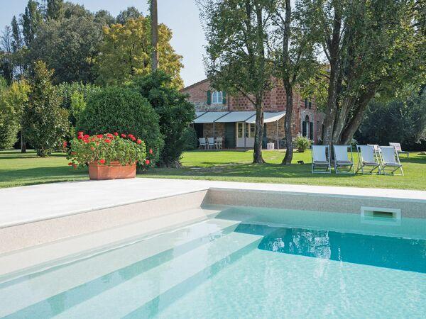 Toskánsko, Orentano, Villa Fontine