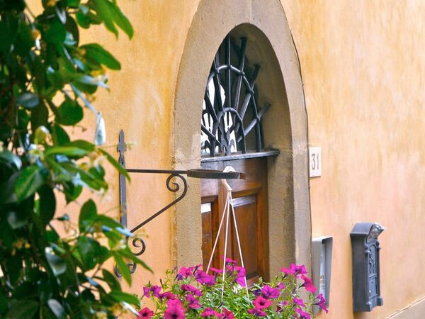 Santo Agostino, Holiday Apartment for rent in Cortona, Tuscany