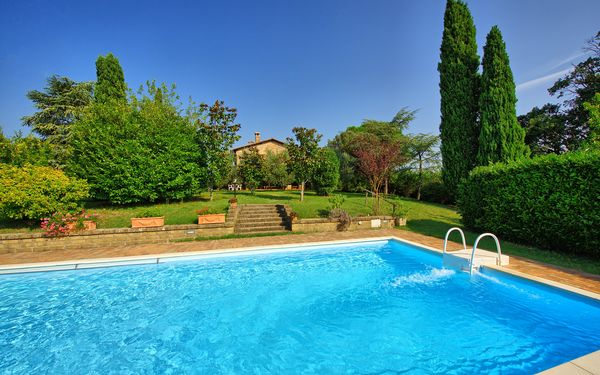 Casale Giulio, Villa for rent in Cetona, Tuscany