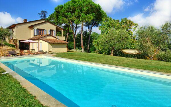 Casa Gabriella, Villa for rent in Montaione, Tuscany