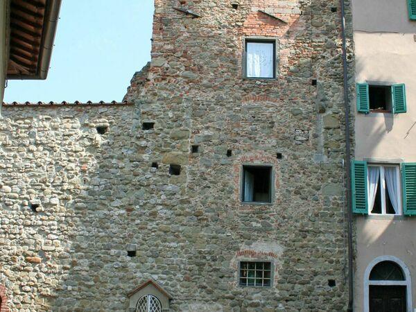 Toskánsko, Figline Valdarno, Torre Forese