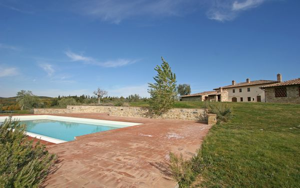 Fornacino, Apartment for rent in Pievasciata, Tuscany