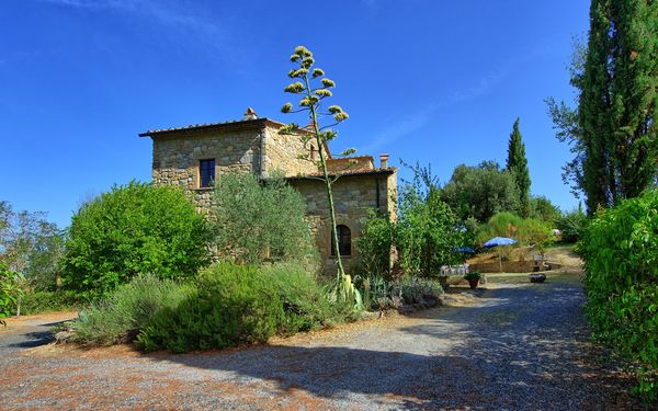 Casa Mauro, Villa for rent in Pignano, Tuscany