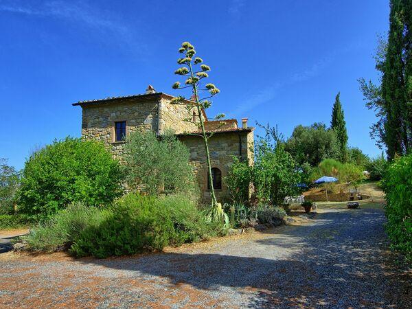 Toskánsko, Pignano, Casa Mauro
