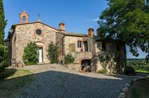 Toskánsko, Gaiole In Chianti, Borgo Chiesetta