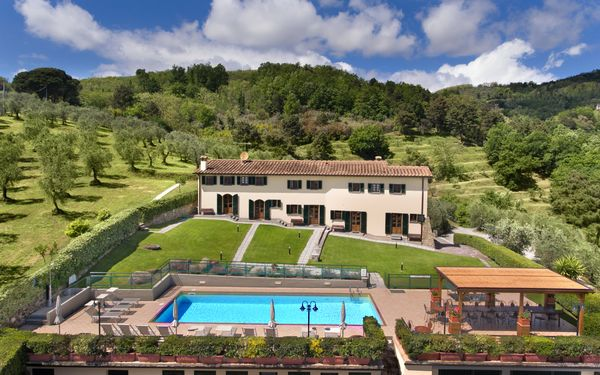 Villa Ferretta, Villa for rent in Montecatini, Tuscany