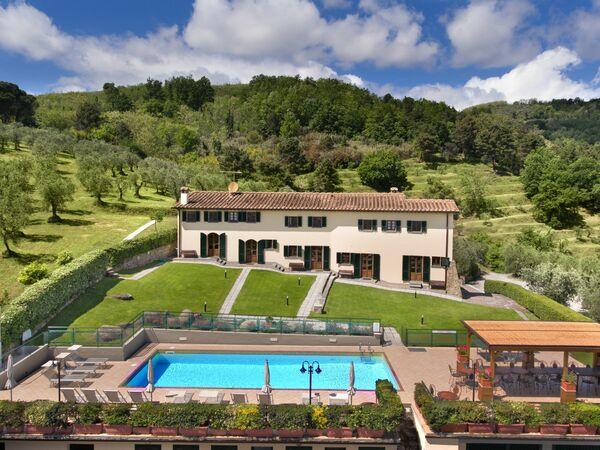 Villa Ferretta, Villa for rent in Montecatini, Tuscany