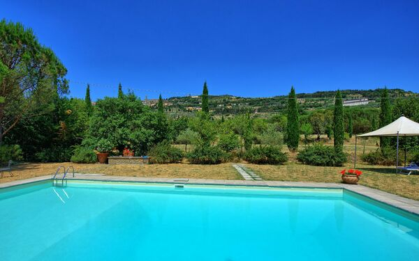 Villa Elisa, Villa for rent in Cortona, Tuscany