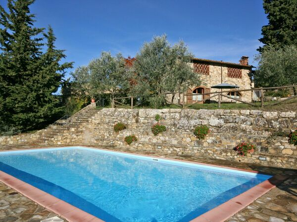 Casa Anna, Apartment for rent in Badia a Passignano, Tuscany