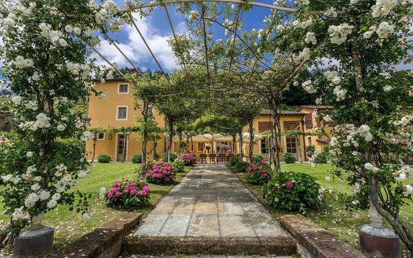 Toskánsko, Vorno, Villa Luca