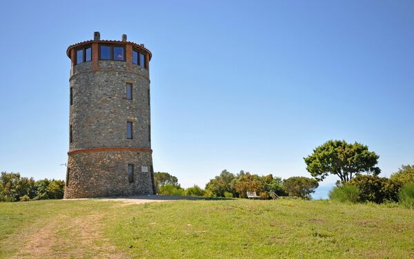 Torre Rivolta, Castle for rent in Talamone, Tuscany