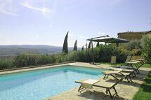 Spicciano, Villa for rent in Tignano, Tuscany