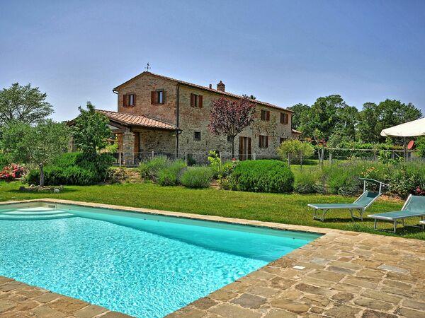 Villa Poggio Del Sole in affitto a Montecchio