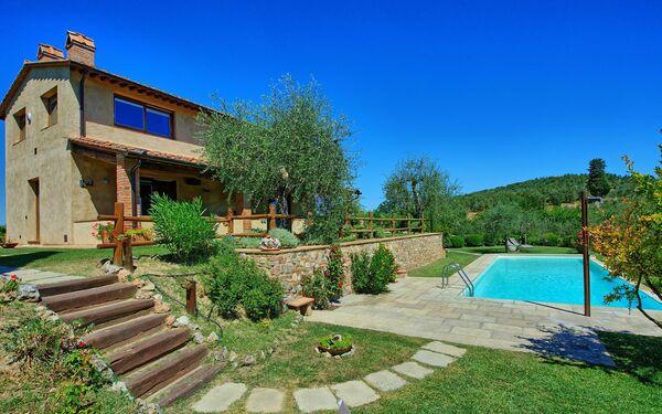 Villa San Martino, Тоскана, San Martino a Maiano