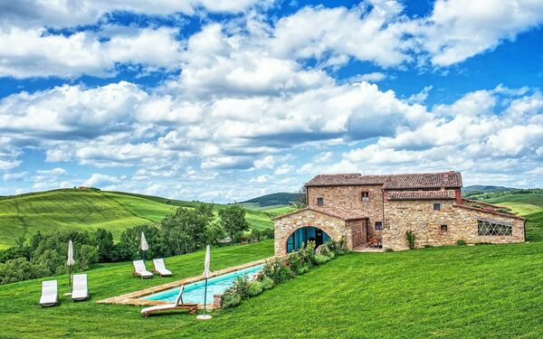 Casale Pienza, Villa for rent in Pienza, Tuscany
