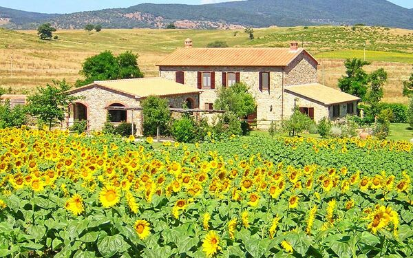 Casale Sugherino, Apartment for rent in Scansano, Tuscany