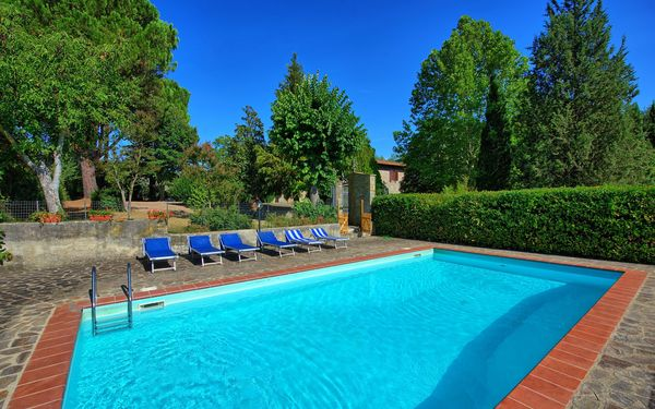 Casale Ambra, Villa for rent in Ambra, Tuscany