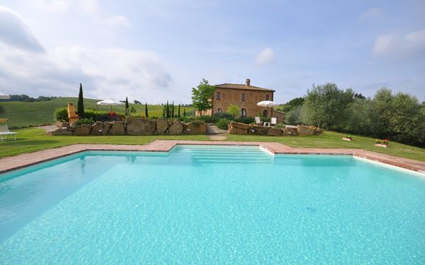 Villa Gaeta, Тоскана, Montefollonico