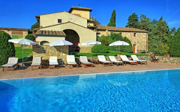Tenuta, Apartment for rent in Le Quattro Strade, Tuscany