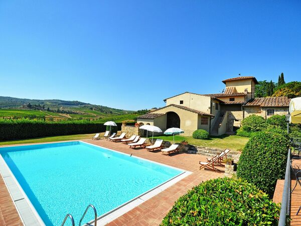 Tenuta, Apartment for rent in Le Quattro Strade, Tuscany