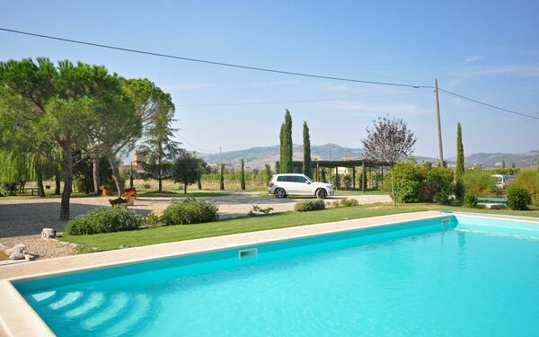 Villa Cassia, Villa for rent in Bagno Vignoni, Tuscany
