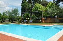 Villa San Carlo in  Montagnana -Toskana