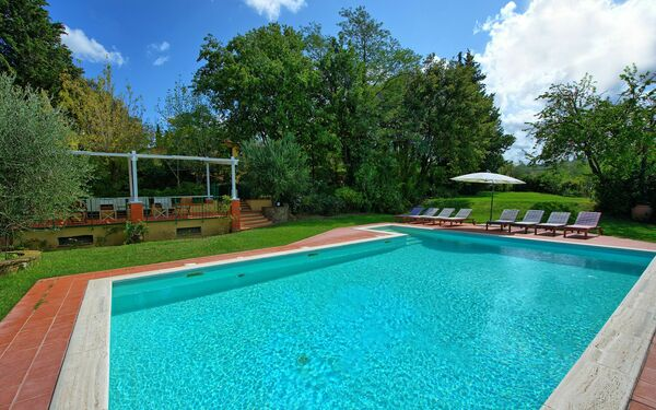 San Carlo, Villa for rent in Montagnana, Tuscany