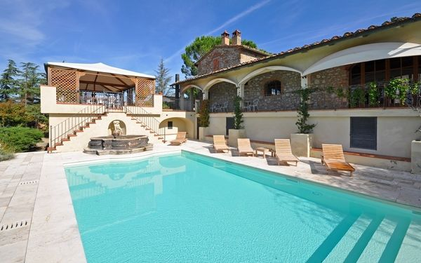 Villa Guia, Villa for rent in Montebenichi, Tuscany